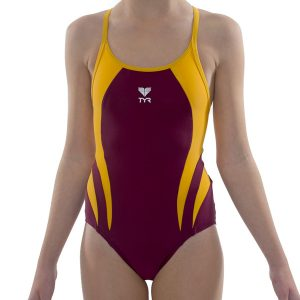 girls one piece swimming costume